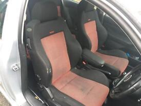 Vw Golf MK4 Red Recaro Seats. Full set. Very Good condition