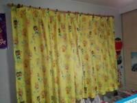 2 x waybuloo curtains