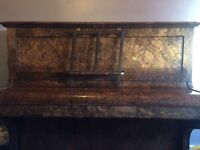 Albert Hanson & co up right piano