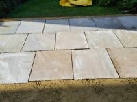 18 Genuine Indian Stone Flags 600mm x 600mm