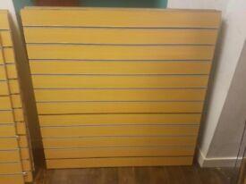 Beech Slatwall Panels