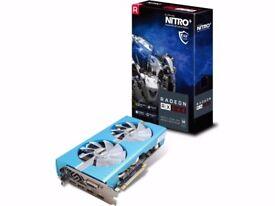 8GB SAPPHIRE NITRO+ Radeon RX 580 Special Edition METAL BLUE