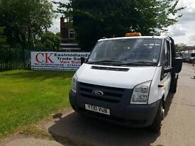 FORD TRANSIT VAN 12FT DROP SIDE. NO VAT FREE WARRANTY AND FINANCE AVAILABLE