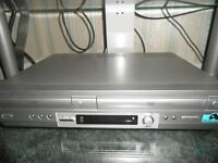 SONY COMBINATION DVD AND VIDEO PLAYER