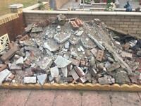 Free to uplift Rubble/Bricks