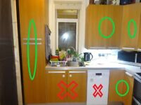 FREE for collection: kitchen furniture without appliances