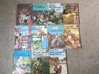 11 Well loved tales by ladybird. Vintage antique collectible fairytale stories