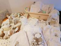 Complete nursery bundle with furniture