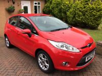 2012 Ford Fiesta Zetec, 1242 CC, 5 Door Hatcbacck, petrol, 15355 miles