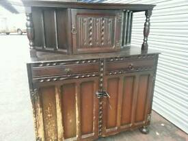ANTIQUE OLD CHARM/PRIORY COURT CABINET