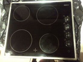 Hotpoint ceramic electric hob in very good condition