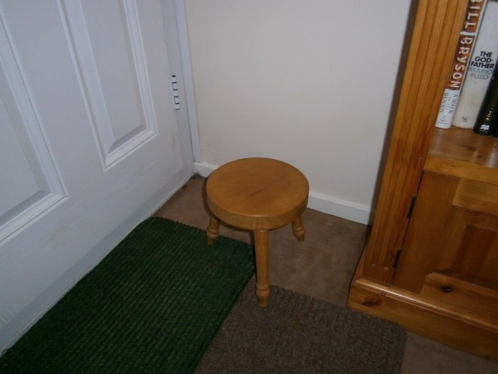 For Sale: Solid pine stool.