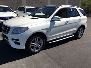 2012 Mercedes-Benz ML350 BlueTEC, Automatic, Leather, Sunroof, A