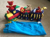 Spottiswoode soft toy train