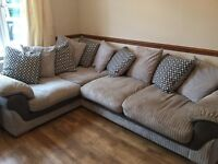 Amazing Corner Sofa! Less than 12 months old! Reluctant sale