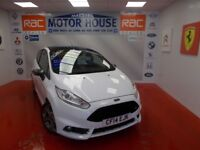 Ford Fiesta ST-2 (SAT NAV AND HUGE SPEC) FREE MOT'S AS LONG AS YOU OWN THE CAR!!! (white) 2014