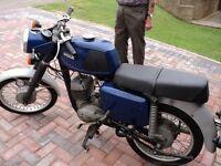 MZ 125 TS Motor Bike
