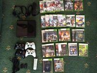 Xbox 360-E (2014) + 30 Games + Accessories