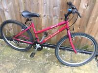 "Ladies 17"" Raleigh Zest bike bicycle. Inc FREE lights & delivery"