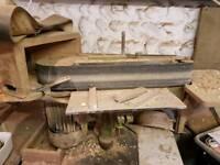 Floor standing sander/linisher