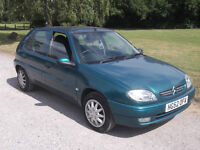 2002 CITROEN SAXO 1.1 DESIRE, MOT NOVEMBER 2016, ONLY £295