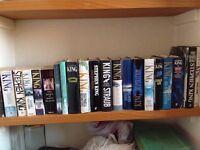 Stephen King Books Hardbacks and papebacks
