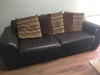 Leather Sofa., Sheffield. Buyer collects.