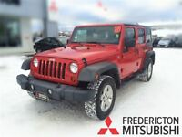 2010 Jeep WRANGLER UNLIMITED SPORT! IMMACULATE! ALLOYS! CRUISE!