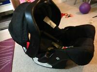 Graco junior car seat good clean condition birth to one year