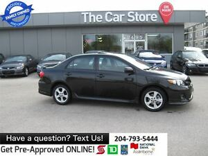 2012 Toyota Corolla S -SUNROOF, BLUETOOTH, NO ACCIDENTS, CLEAN C