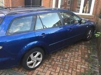Mazda 6 estate 2 lt diesel