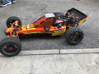 Baja 5B Highly modified race buggy/rc car