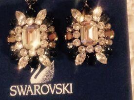 Stunning Swarovski collectible earrings !