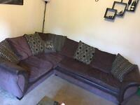 Large corner suite with double sofa bed (DFS only two years old!)