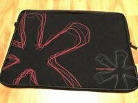 "POFOKO NEOPRENE SLEEVE for iPad 2/3/4 or Tablet 11-12"" PADDED PROTECTION BLACK"