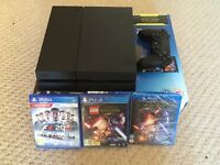 Playstation 4 with Formula 1 2016 & Lego star wars the force awakens - WITH RECEIPT 3 WEEKS OLD