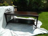 Stag Minstrel furniture---Mahogany---Coffee table