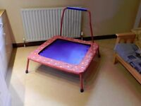 Child's indoor trampoline.