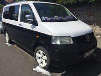 VW T5 Transporter Camper Day Van , Rock n Roll Bed, Pod LOOK