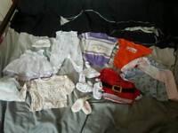 Baby clothes bib bootie dress top vest