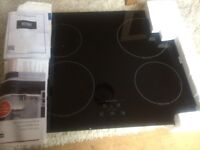 new Stoves SIH600TC Black 60cm Four Zone Induction Hob Touch Control ...