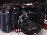 MINOLTA DYNAX 5000AF SLR CAMERA