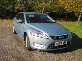 2009 FORD MONDEO ZETEC 2.0, PETROL,5 SPEED MANUAL. 55035 MILES