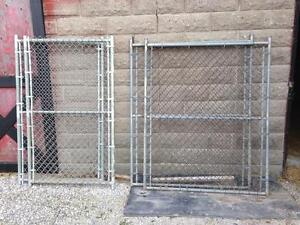 4 - 6 ft kennel panels plus more