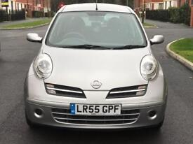 AUTOMATIC, LOW INSURANCE GROUP AND VERY LOW MILEAGE NISSAN MICRA SE 5 DOOR HATCHBACK 1.2 PETROL