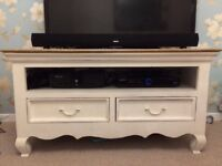 Shabby Chic Tv Stand. 1.5 years old and originally bought for £340