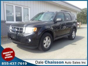 2011 Ford Escape XLT ($139 Bi-Weekly $0 Down Tax Inc.)*