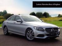 Mercedes-Benz C Class C220 D SPORT PREMIUM (silver) 2017-02-28