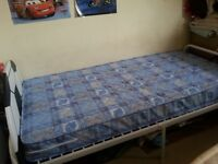 Kids football bed with almost new mattress
