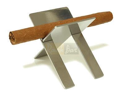 Zigarrenhalter Cigarrenbank Zigarrenständer Chrom Zigarre Ständer
